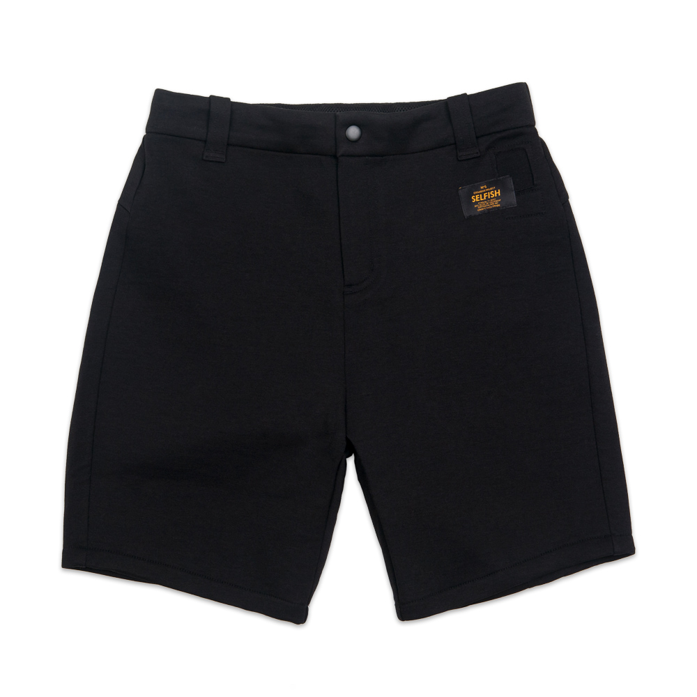 WOMAN'S PREMIUM BONDING SHORT PANTS (SAF3SP01) (BLACK)