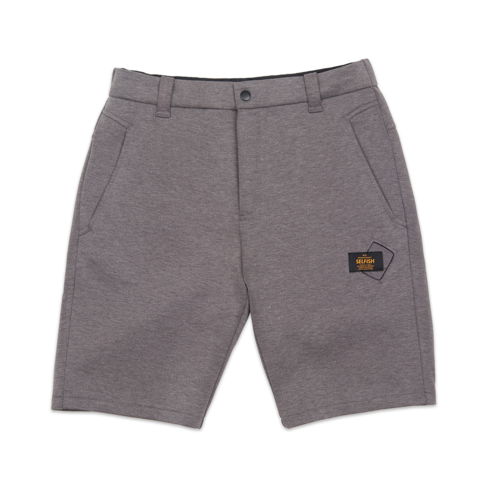 MAN'S PREMIUM BONDING SHORT PANTS (SAF3SP01) (GREY)