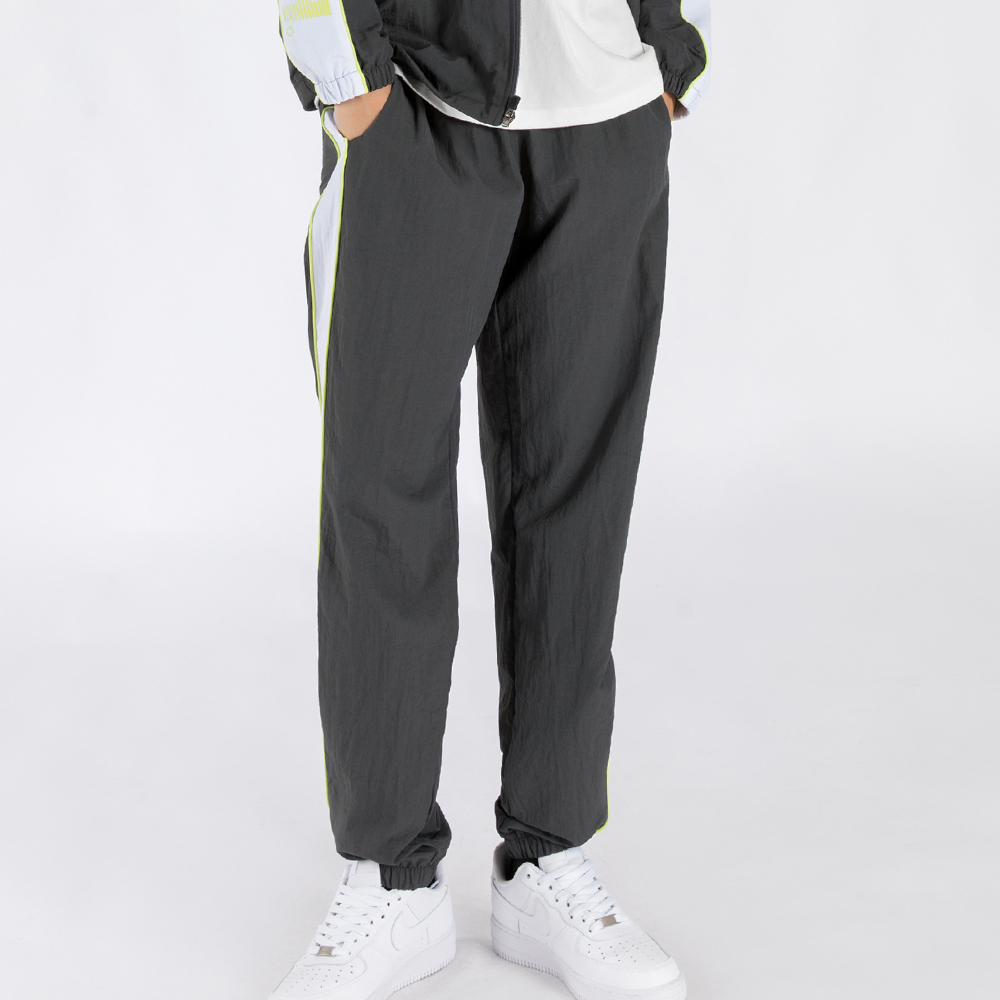 WIND-BREAK TRACK PANTS (SAF3TR02) (GREY)
